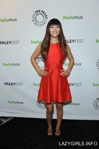 Hannah Simone - Paleyfest Panel For New Girl March 5 2012