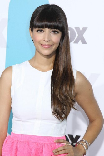 Hannah Simone Stills At 2012 fuchs Upfronts Event