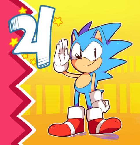 Happy 21st Sonic