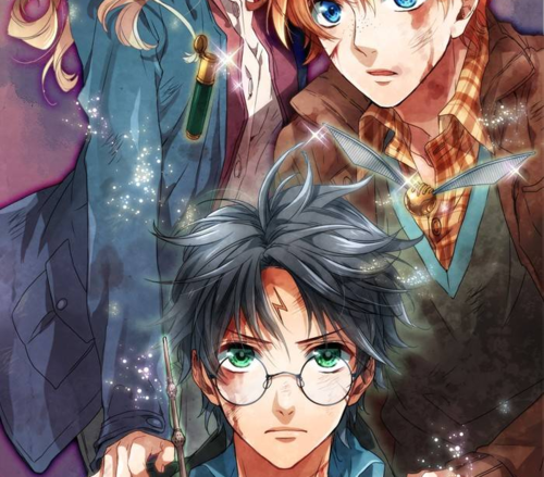 Harry Potter as an Anime.