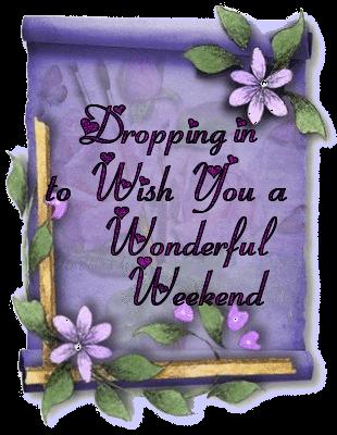 Have a beautiful weekend Berni