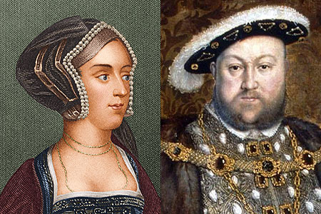 Henry VIII and Anne Boleyn - anne-boleyn Photo