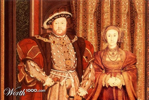Tudor History wallpaper called Henry VIII and Anne of Cleves
