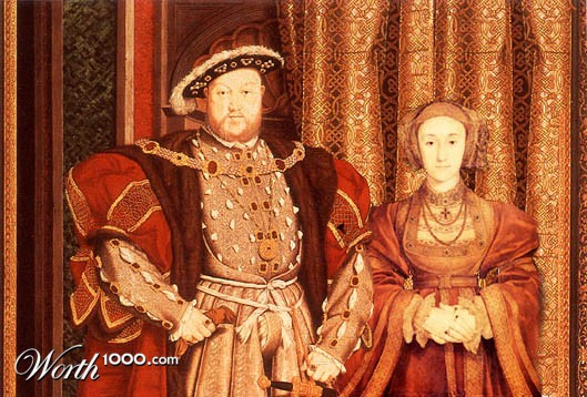 Henry VIII and Anne of Cleves