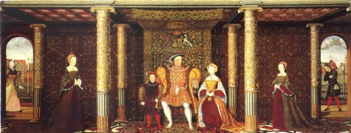 Henry VIII and his family