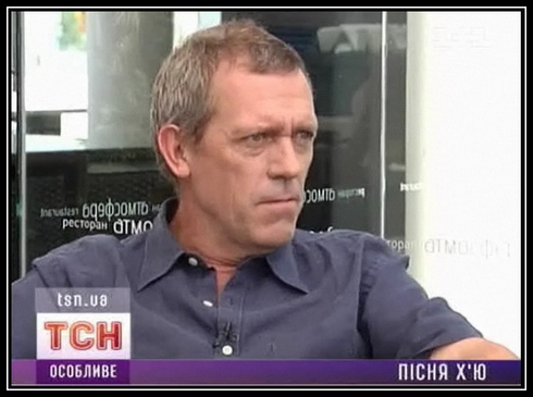 Hugh Laurie wallpaper with a portrait entitled Hugh Laurie- Interview