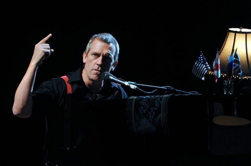 """Hugh Laurie - """"Magic Horse Centre"""" - Moscow 25 June 2012"""