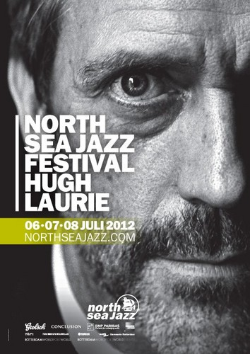 Hugh Laurie - North Sea Jazz Festival Poster