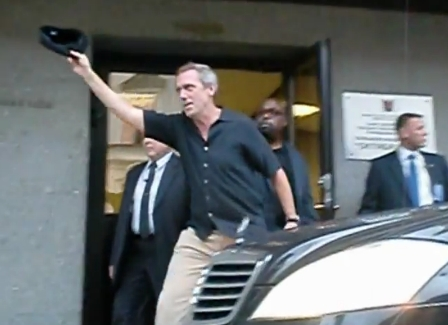 Hugh Laurie- after the konzert BKZ 24/06/2012 Saint-Petersburg
