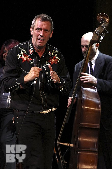 """Hugh Laurie at the """"Palace of the Republic"""" - Minsk 22.06.2012"""