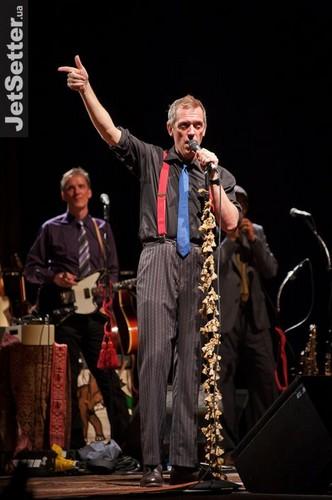 "Hugh Laurie концерт at the ""Palace Ukraine"" - Kiev."