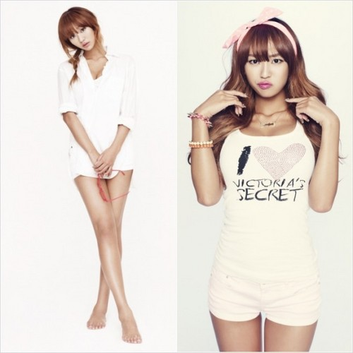 "SISTAR (씨스타) wallpaper containing a portrait entitled Hyorin "" Loving U"" pic teaser"
