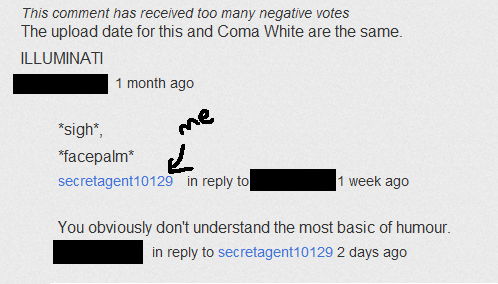 fanpop FAIL! fond d'écran entitled Idiotic YouTube user