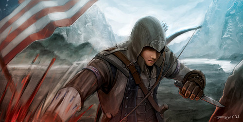 Assassin's Creed wallpaper with a spatula titled Ignite the REVOLUTION