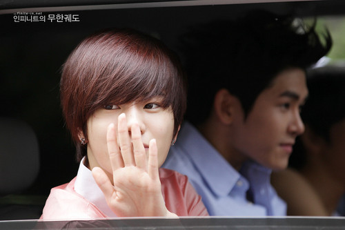 Infinite going to KBS Musica Bank