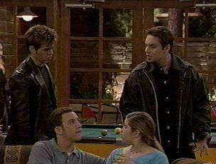 Jack and Eric with Cory and Topanga
