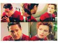 Janeway and Chakotay - Elogium