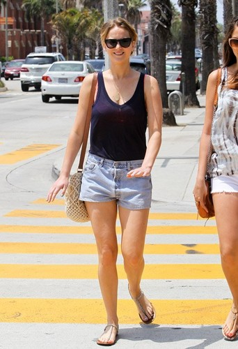 Jennifer Lawrence out to lunch in Santa Monica, CA with one of her girl friends (June 20).  - jennifer-lawrence Photo