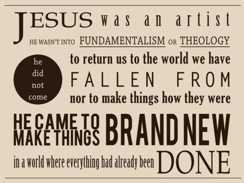 Jesus: The Artist