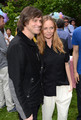 Jim Carrey and fashion designer Stella McCartney
