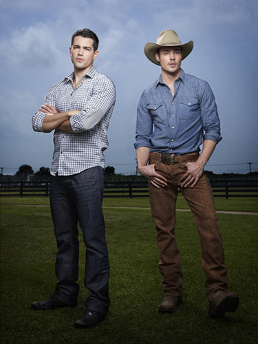 Dallas Tv Show wallpaper with a boater, a fedora, and a dress hat called John Ross and Christopher