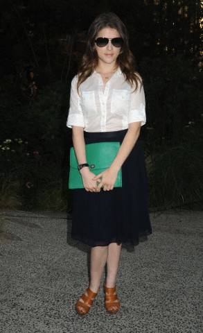 June 19 Summer Party On The High Line  - anna-kendrick Photo