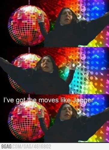 Just Snape dancing