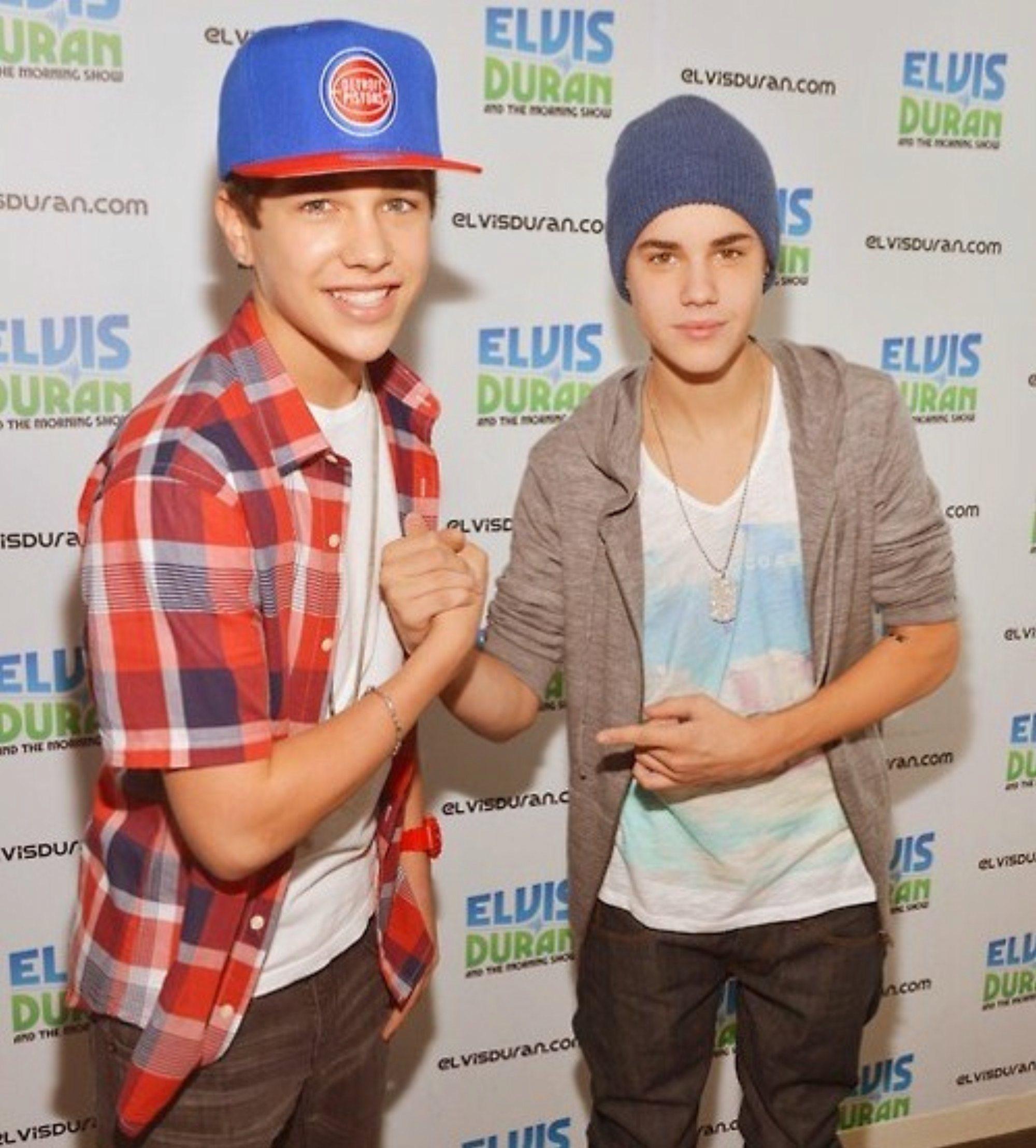 Justin Bieber Justin Bieber ,Austin Mahone MTV 2012