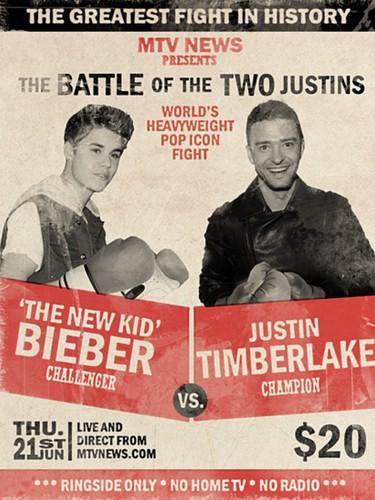 Justin Bieber vs Justin Timberlake