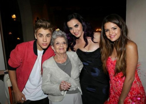 Justin, Selena, Katy Perry, , 2012 - justin-bieber Photo