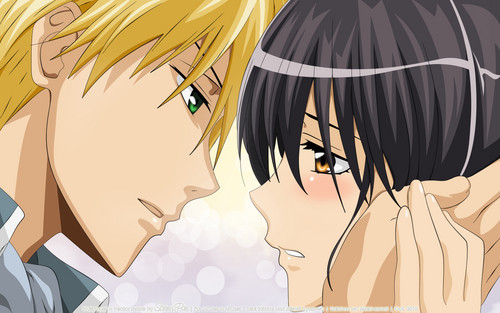 Kaichou wa Maid-sama wallpaper possibly with anime called ciuman