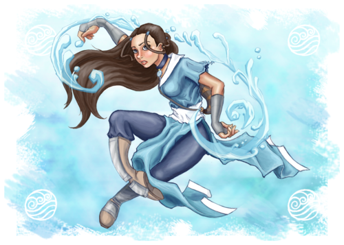 Avatar – Der Herr der Elemente Hintergrund probably with Anime called Katara
