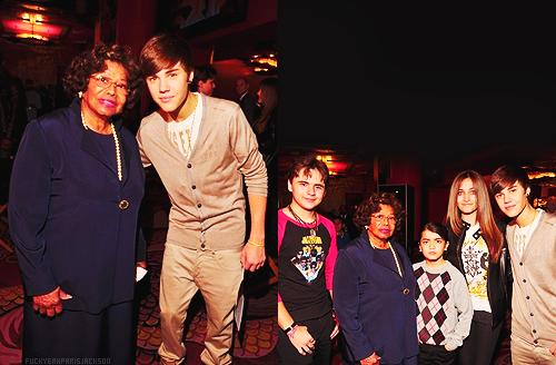 Katherine Jackson & Justin Bieber