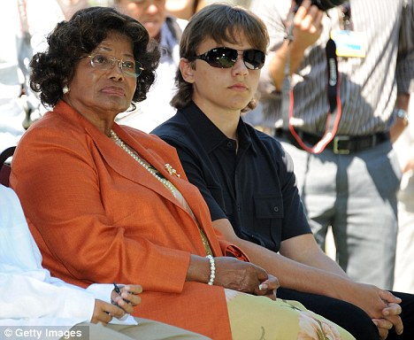 Katherine & Prince Michael Jackson