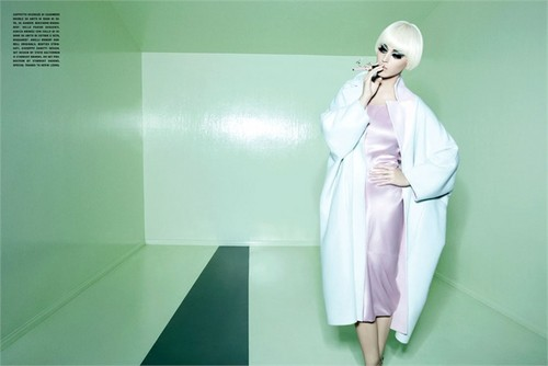 Katy Perry Phototshoot for the July 2012 Issue of Vogue Italia