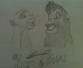 Kiara & Kovu - lionkingt fan art
