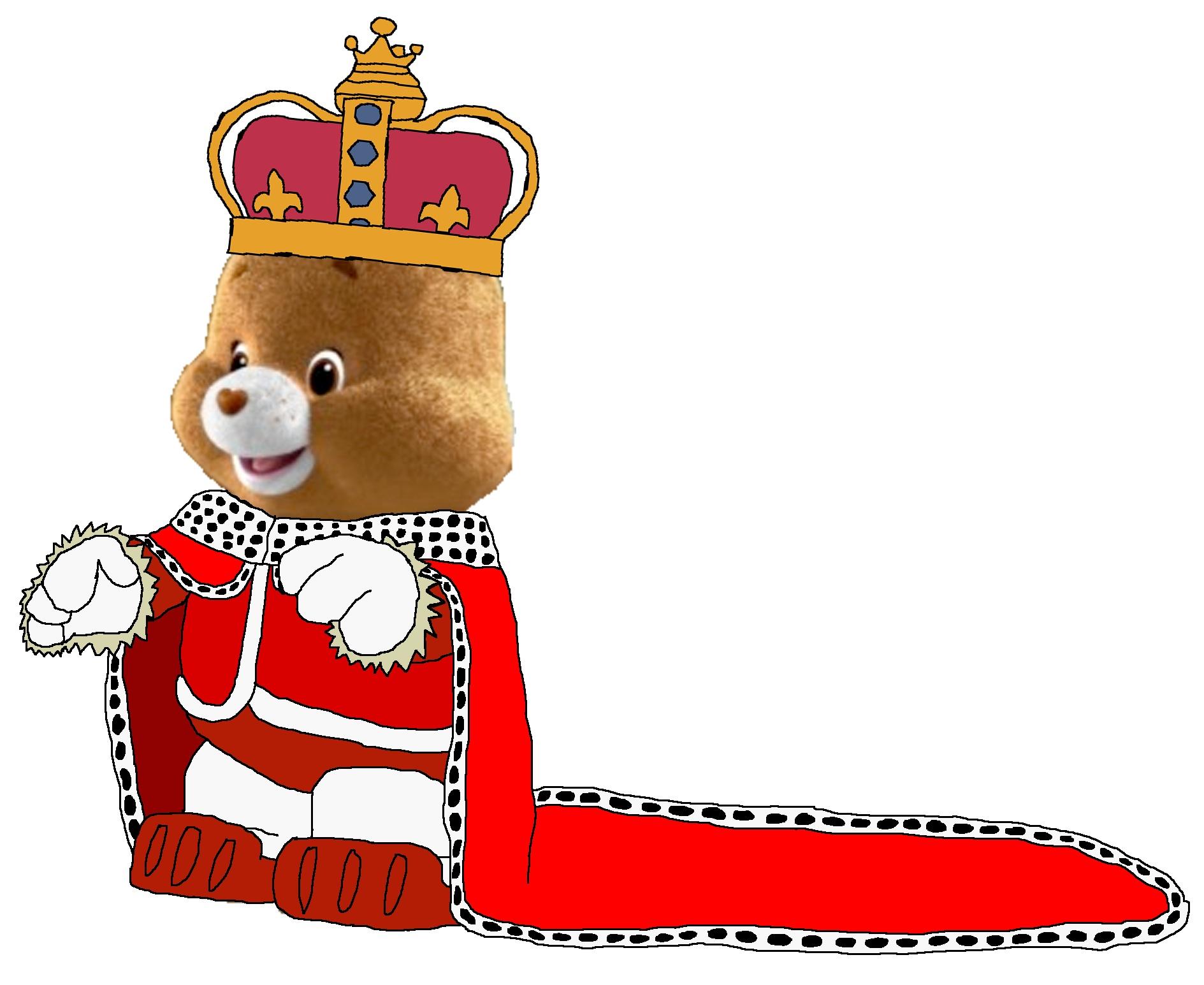 King Tenderheart bär