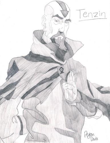 Korra Characters Drawn によって me Peyton Davis