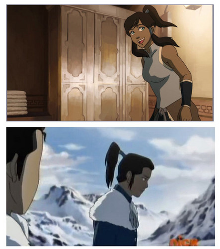 Korra Copied his Hairstyle XD
