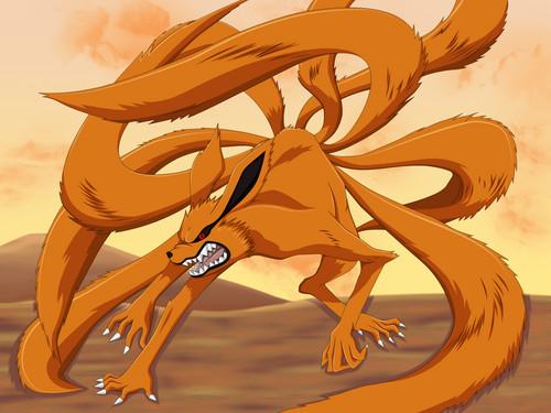 Kyuubi rubah, fox Kurama