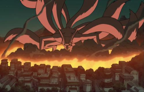 Kyuubi cáo, fox Kurama