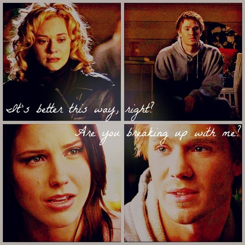 Leyton vs. brucas wallpaper with a portrait entitled LP/BL Breakups