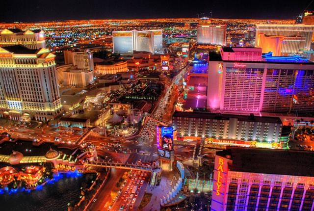 Las Vegas neon - like
