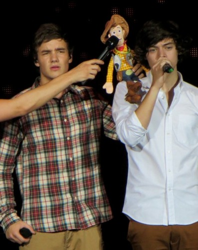 Liam, Woody & Harry