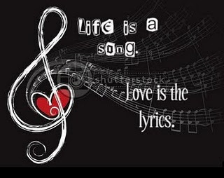 Life is a Song, 爱情 is the Lyrics