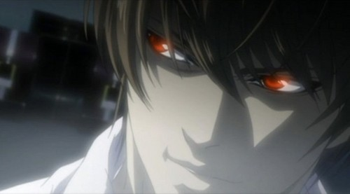 Death Note Light Yagami Evil