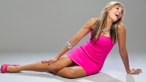 Lilian Garcia wallpaper probably with a leotard, tights, and a maillot titled Lilian Garcia Photoshoot Flashback