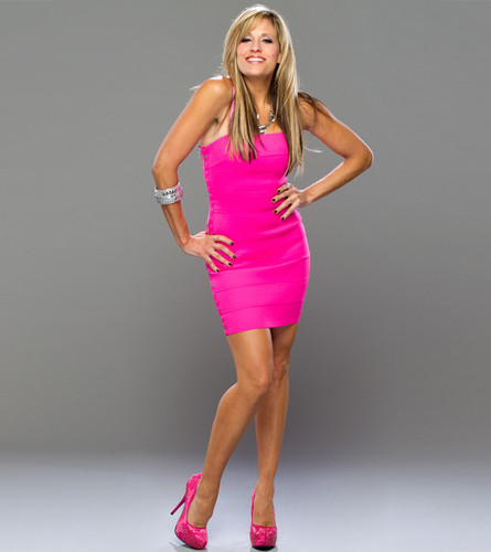 Lilian Garcia wallpaper containing a leotard, tights, and a bustier titled Lilian Garcia Photoshoot Flashback