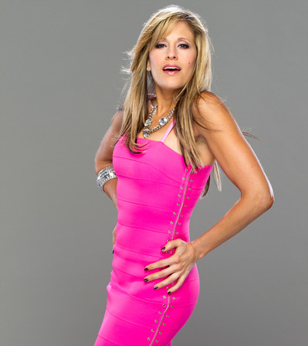 Lilian Garcia پیپر وال containing a کاک, کاکٹیل dress titled Lilian Garcia Photoshoot Flashback