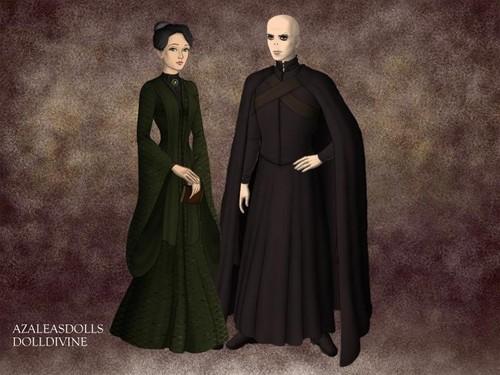 Lord Voldemort and Prof. McGonagall